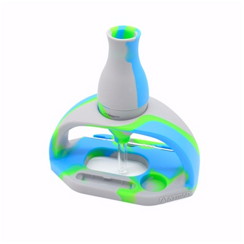 ATMAN WG22 Silicone Nectar Collector - Blue, Green, & Gray