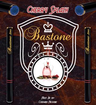 Hookah Vapor Liquids Bastone: Cherry Splash Nicotine-Free