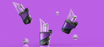 HOWO Vape Desktop Dab Electronic Rig E-Rig - Purple