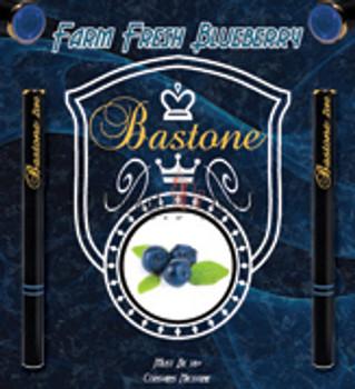 E Hookah Pen Liquid Bastone: Nicotine Free: Farm Fresh Blueberry
