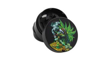 30mm 3 Level Black Lizard Leaf Grinder