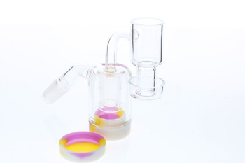 Reclaim Catcher Terp Slurper Banger Combo Kit 45 Degree 14mm Male