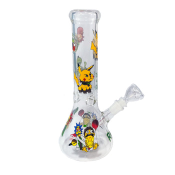 Glass Beaker Bong: 12""
