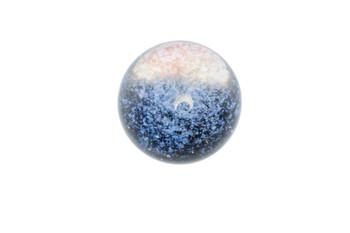 23mm Purple Rainbow Spiral Marble Slurper Cap