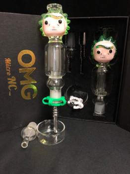 OMG Micro Nectar Collector 14mm Cartoon Character - Green