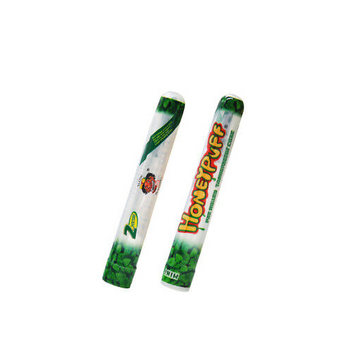 HoneyPuff Pre-Rolled Transparent 1 1/4 Size Cones - Mint