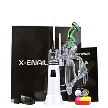 Leaf Buddi X-Enail 1500mAh E-Rig Vaporizer Kit - White