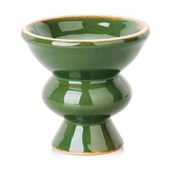 Ceramic Hookah Bowl - Green