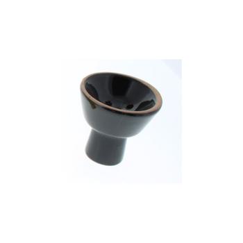 Small Ceramic Hookah Bowl - Black
