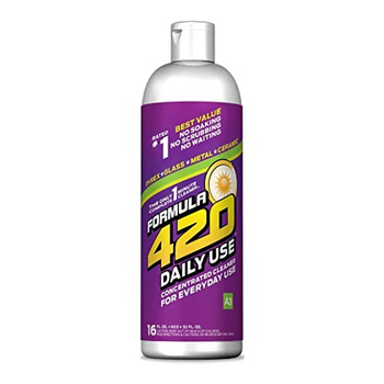 Formula 420 Daily - Pyrex Glass Metal Ceramic Concetrated Cleaner for Everyday Use - 16oz