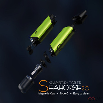 Lookah Seahorse Wax Dab Pen 2.0 Gray
