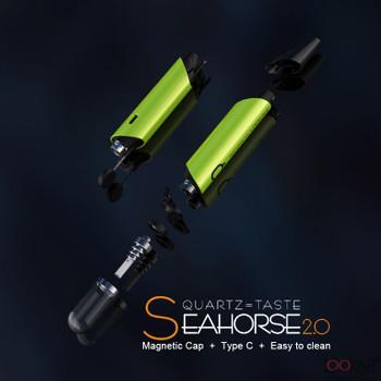 Lookah Seahorse Wax Dab Pen 2.0 Blue