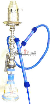 Authentic Handmade Deluxe Egyptian Hookah-Bar Hookah : 013(Blue)