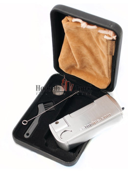 Solo Pipe Pipe w/ Refillable Lighter: All in One