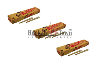 Raw Cone Classic Pre-Rolled Cones w/ tip: 32pc (3 Pack) 96 Cones Total