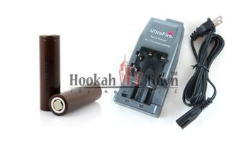 UltraFire Rapid Vape Battery Charger + LG 3000 mah 18650 Battery