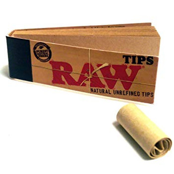 Raw Tips (10 Pack : 500 Tips Total)