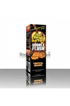 HIGH VOLTAGE DETOX: DOUBLE FLUSH COMBO - TROPICAL ORANGE