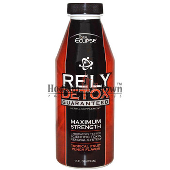 TOTAL ECLIPSE RELY DETOX MAXIMUM STRENGTH - TROPICAL FRUIT PUNCH 16 FL OZ (473 ML) LIQUID