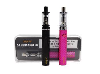 Aspire K3 Vape Kit : 1200 Mah