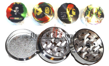 Bob Marley Medium Metal Grinder