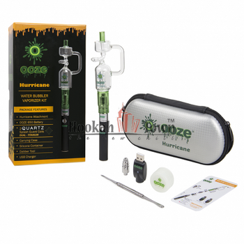 Hurricane Water Bubbler Vaporizer Pen Kit
