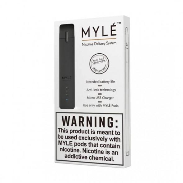 Dark Black Vape Device by MYLÈ