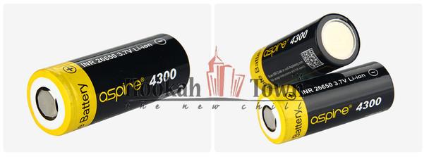 Aspire 4300 Battery is a 26650 mAh Battery