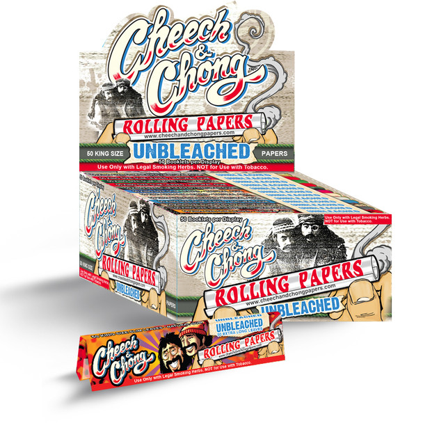 Cheech and Chong Unbleached Papers - King