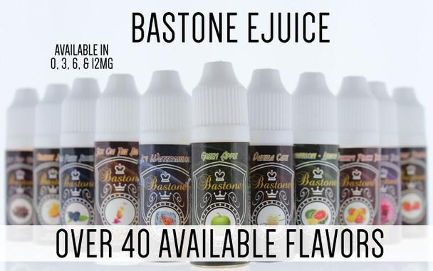 Bastone E-Hookah Vapor Liquid: Strawberry Margarita Nicotine-Free