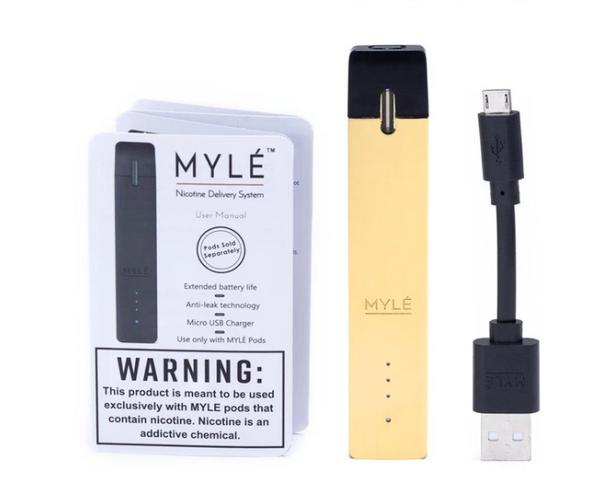 Gold Vape Device by MYLÈ