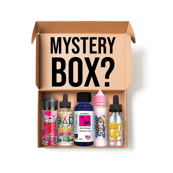 Vape E-Juice Mystery Box 10 x 100ML Bottles