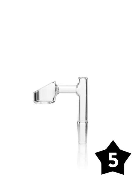 10mm GRAV Male Banger - 90° Angle - Clear