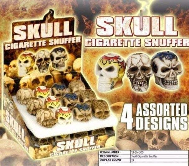 Skull Cigarette Snuffer, Assorted Designs