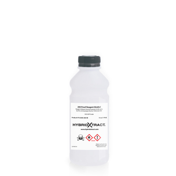 Ethanol Alcohol 200 Proof- 1 Pint- Reagent ( HYBRIDXTRACT )