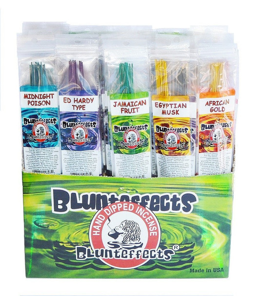 BLUNTEFFECTS PERFUME WANDS HAND DIPPED INCENSE assorted 5pack