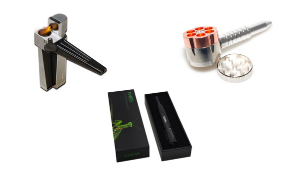 Groupon 3 in 1 Pipe, 2 in 1 Revolving Pipe, & Mantis Submission: Discounted Accessory Options
