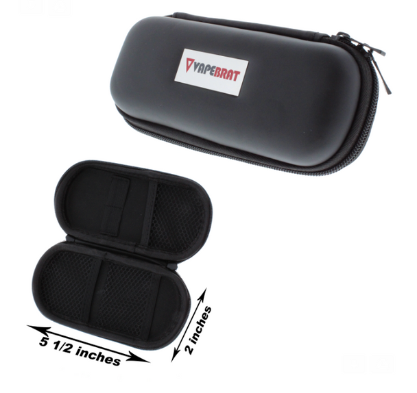 Protective Travel Leather Zipper Case Size-MED