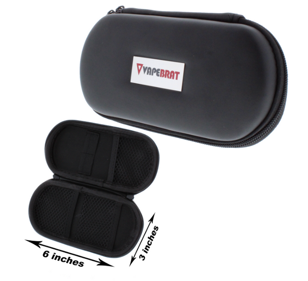 Protective Travel Leather Zipper Case Size-LRG