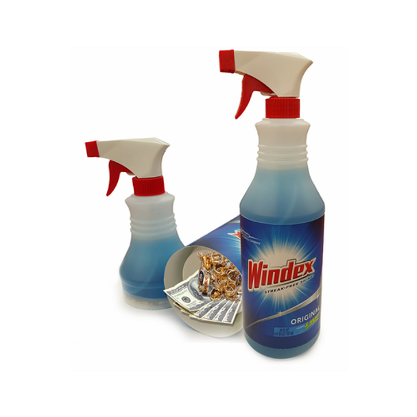Windex Spray Diversion Safe (Working Spray Bottle)