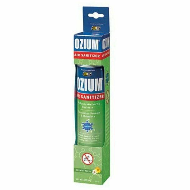 Ozium Spray Air Sanitizer 3.5 oz Air Freshener Country Fresh