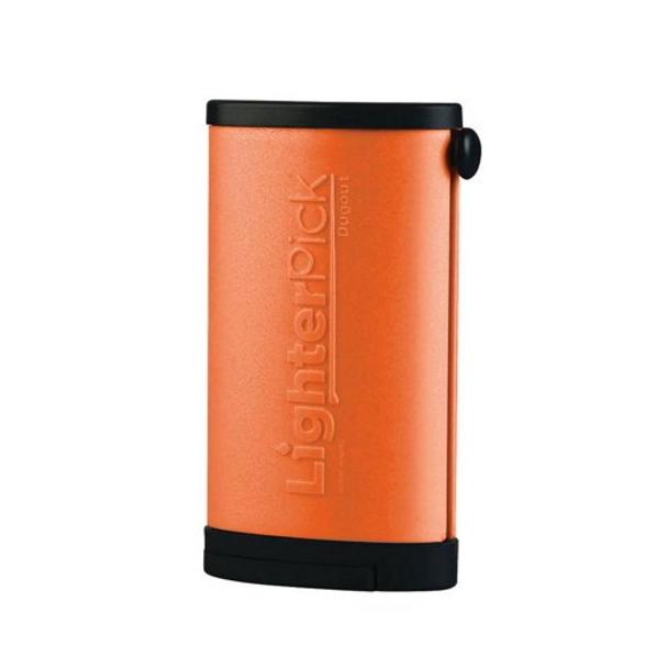 LighterPick All-In-One Waterproof Smoking Tool - ORANGE