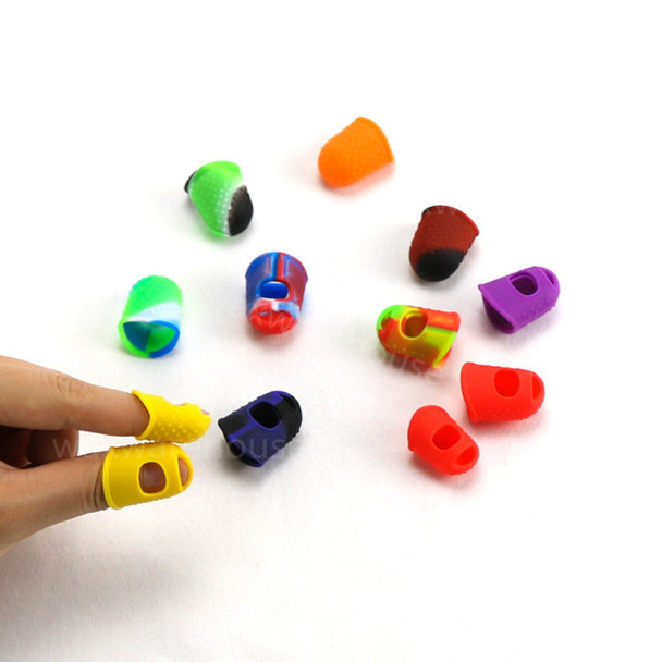 100% Food Grade Silicone Finger Protectors Silicon Finger Tips