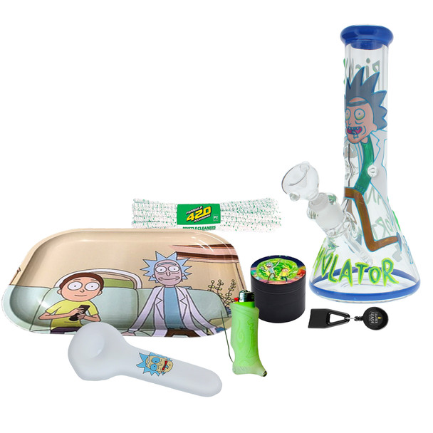 Rick & Morty - Rest and Ricklaxation Kit