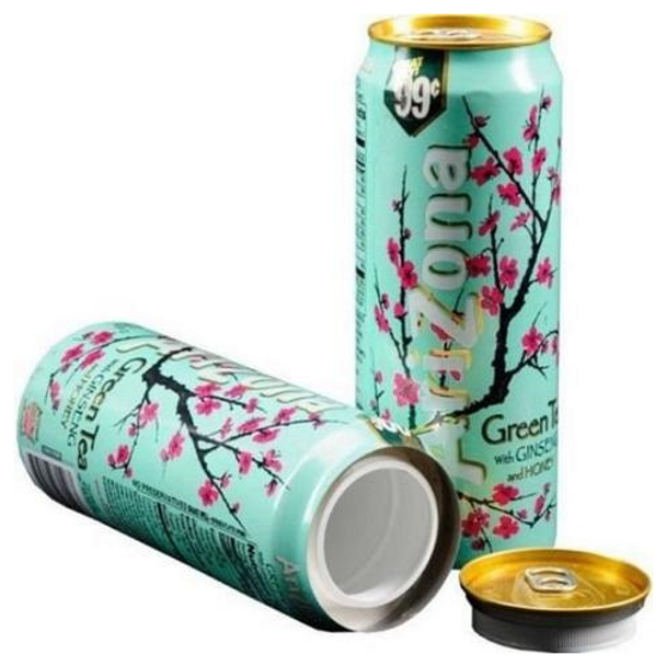Arizona Diversion Safe Home Security Hidden Stash Can Protect Valuables - Green Tea - 24oz