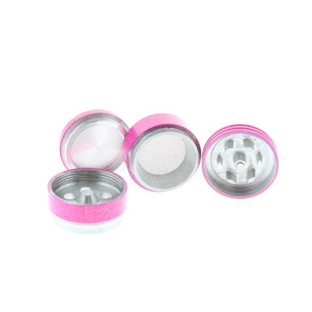 Pink Mini Glitter Grinder