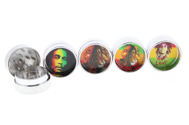 Bob Marley Travel Grinder