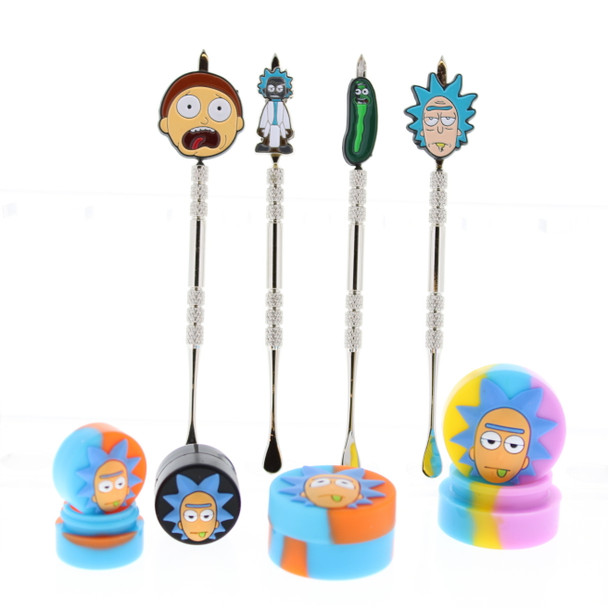 Rick and Morty 8 pc Dabber Set