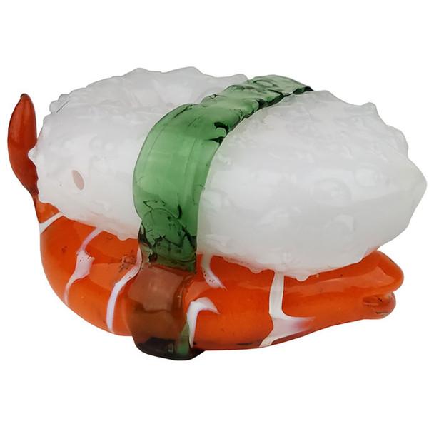 "5"" Fish Sushi Glass Hand Pipe"