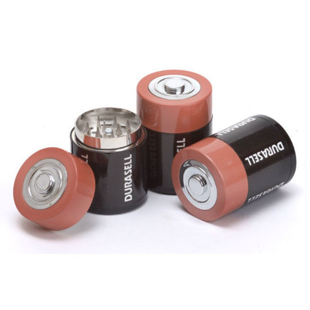 Durasell Battery Herb Grinder